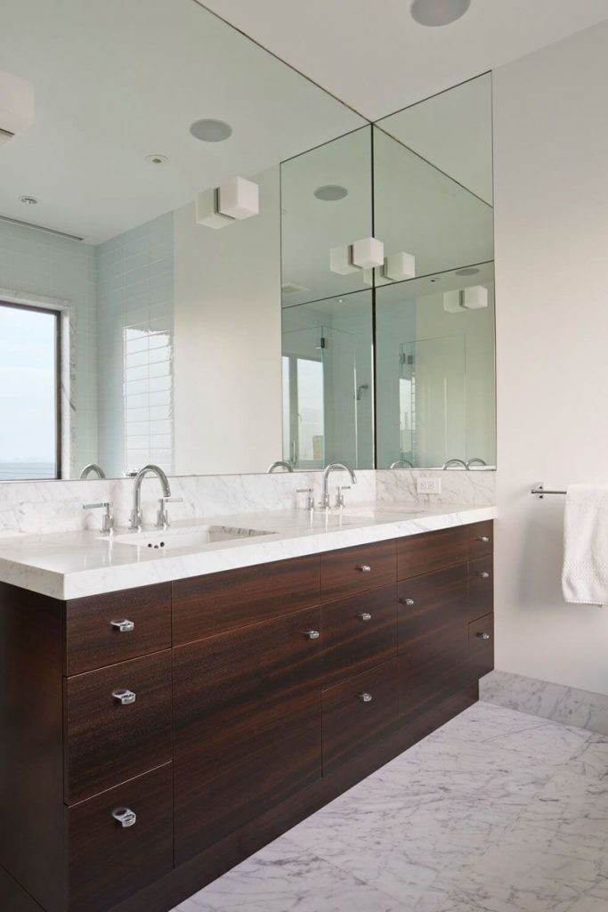 Bathroom Mirror Ideas Fill The Whole Wall Pinterest Bathroom
