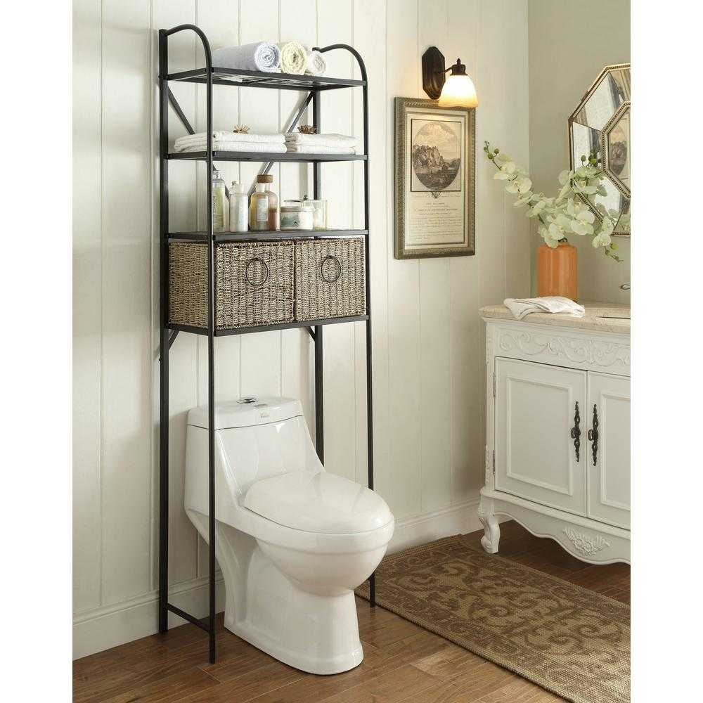 Bathroom Over Toilet Cabinet Complete Ideas Example