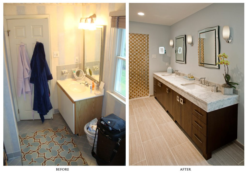 Bathroom Remodel Pictures Before And After Exellent After