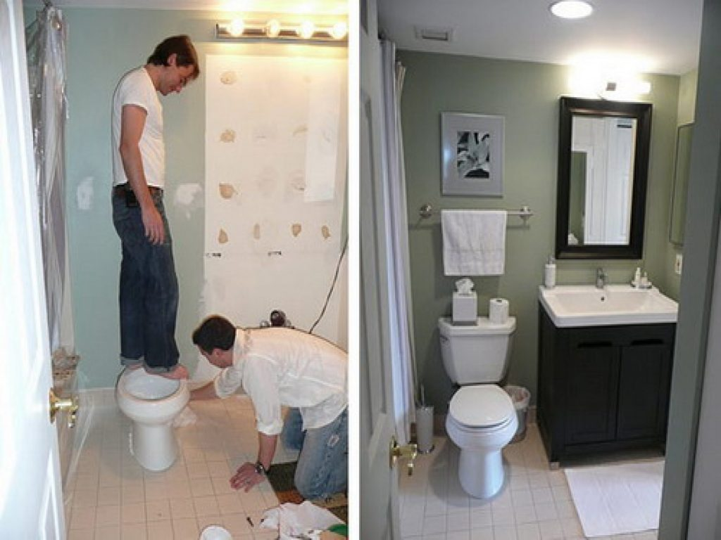 Bathroom Remodels Before And After Exellent Remodels Small Bathroom