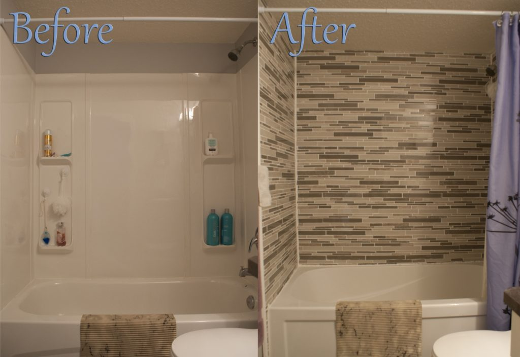 Bathroom Renovation Miranda Burski Tile Before And After Old