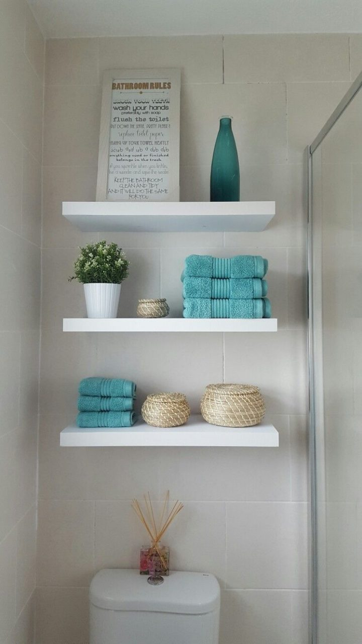 Bathroom Shelving Ideas Over Toilet Bathroom Pinterest