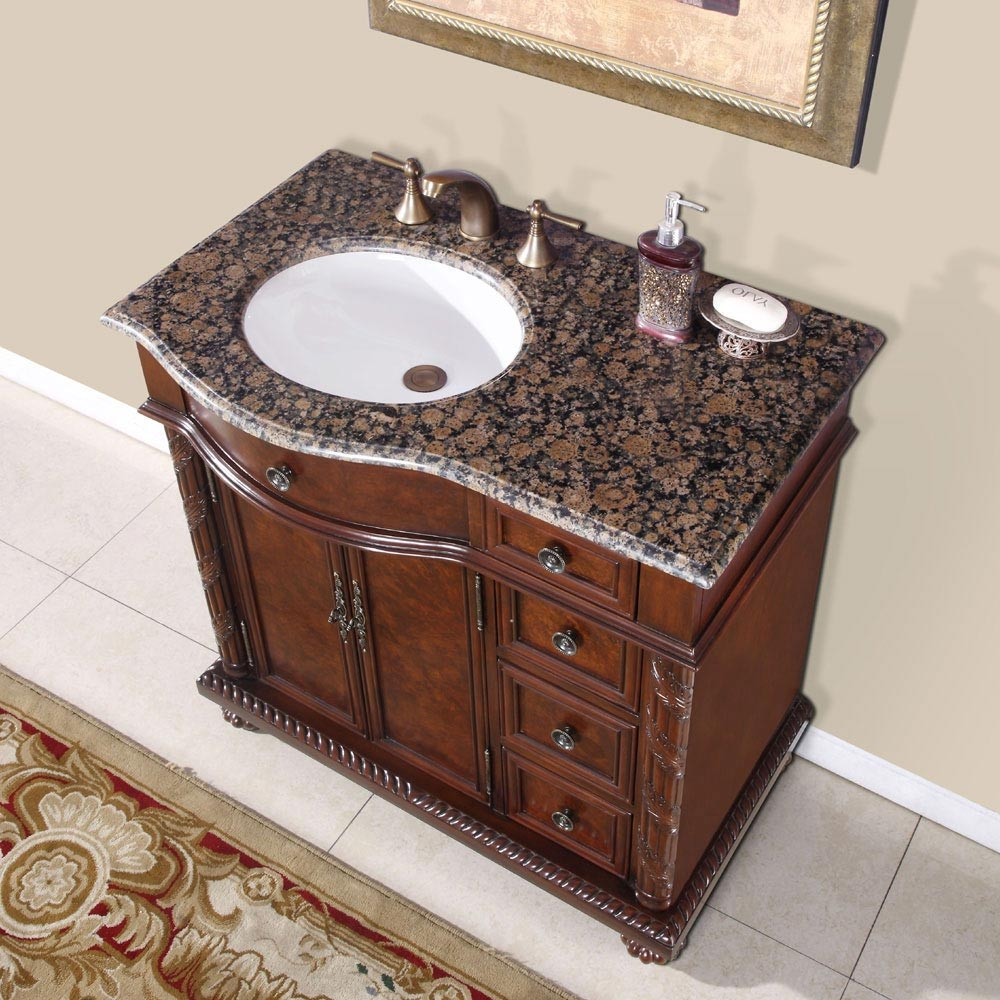 Bathroom Sink Single Sink Bathroom Vanity Nantucket 42 Single Sink