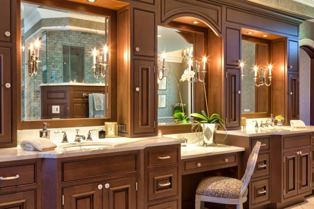 Bathroom Sinks Awesome Bathroom Vanity With Makeup Table Avaz