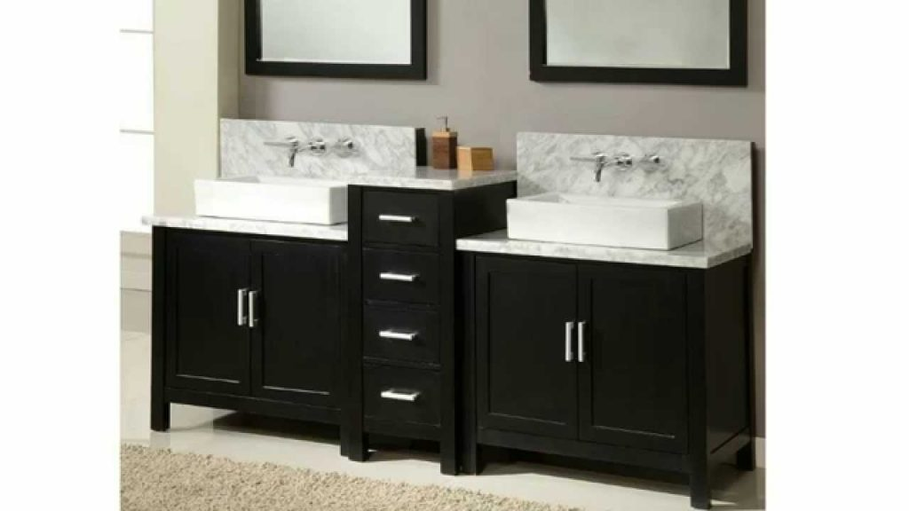Bathroom Vanities Built For Wall Mounted Faucets Homethangs