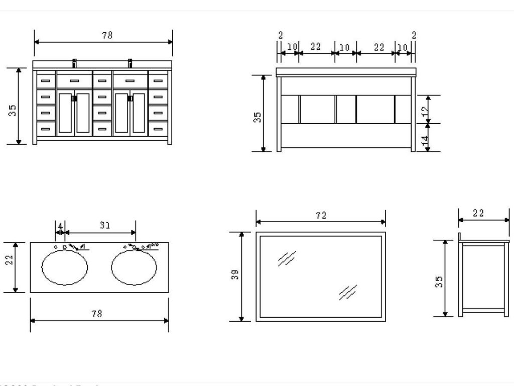 Bathroom Vanity Depth Pertaining To Cabinet Medium Size Prepare 8