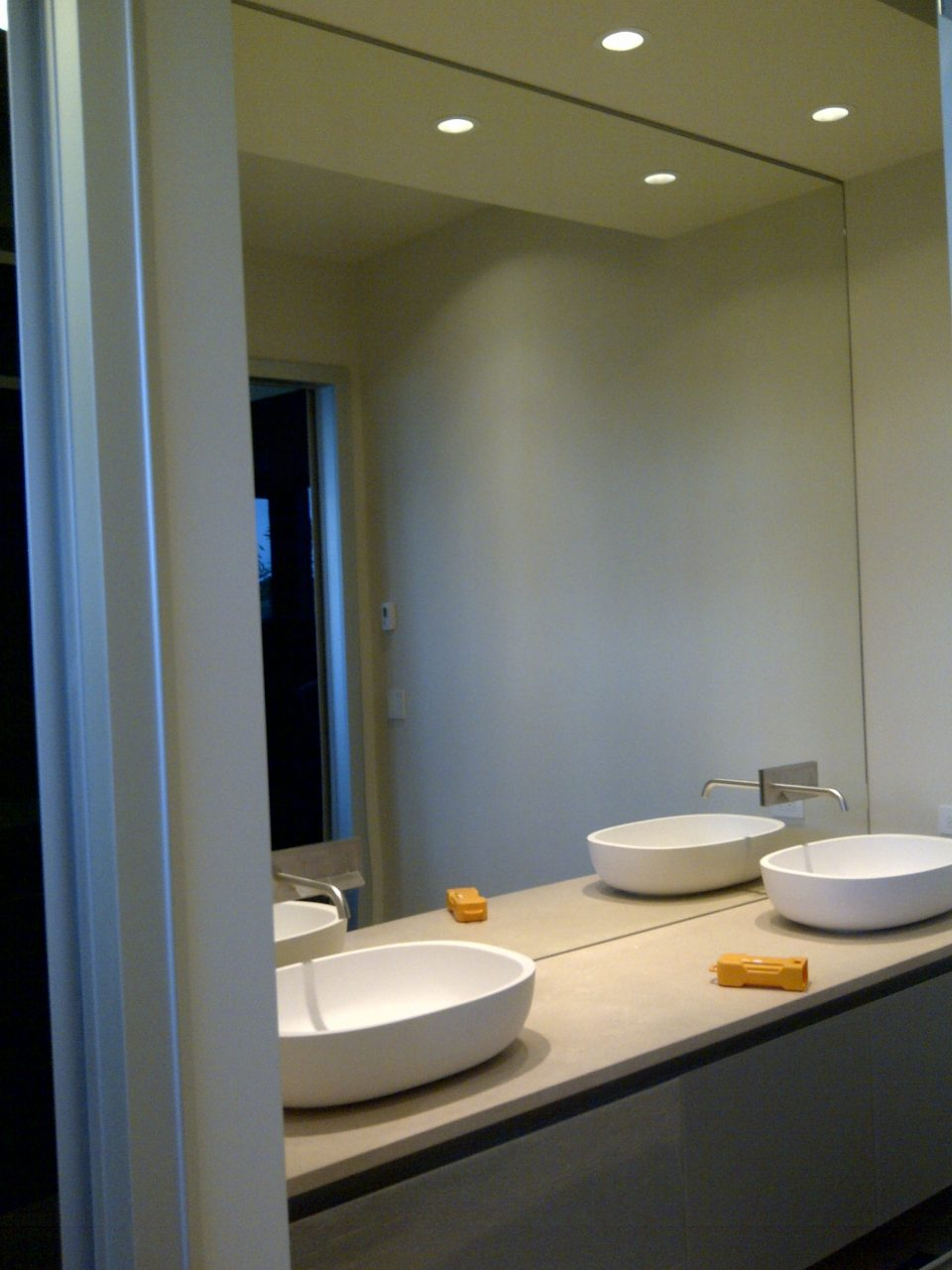 Bathroom Vanity Wall Mirrors Intended For Making 3 Sided Framed