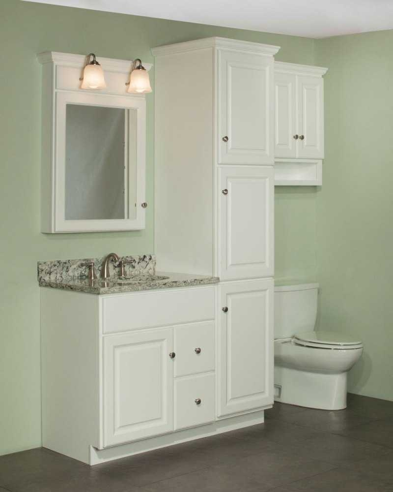 Bathroom Vanity With Linen Cabinet Matching Tower 2018 And