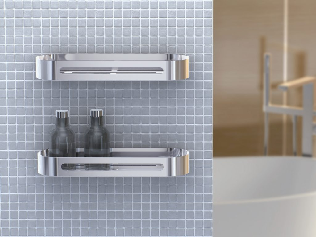 Bathroom Wall Shelf Designs In Simple And Unique Options The New