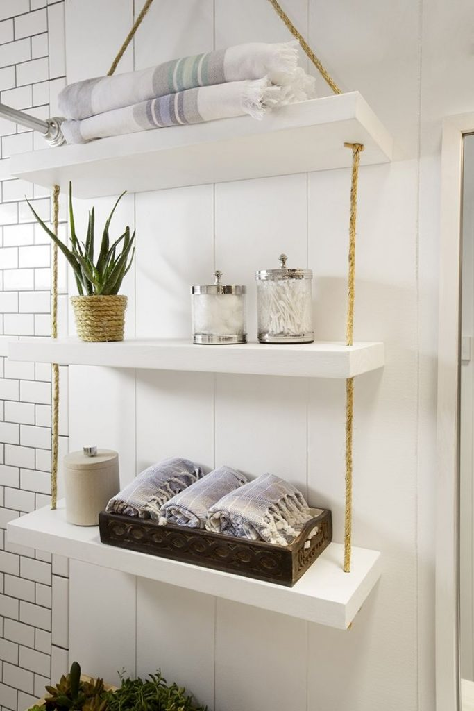 Bathroom Wall Shelves For Towels F92x In Perfect Home Decoration