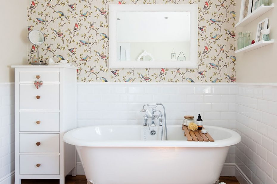 Bathroom Wallpaper Ideas That Will Elevate Your Space To Stylish New