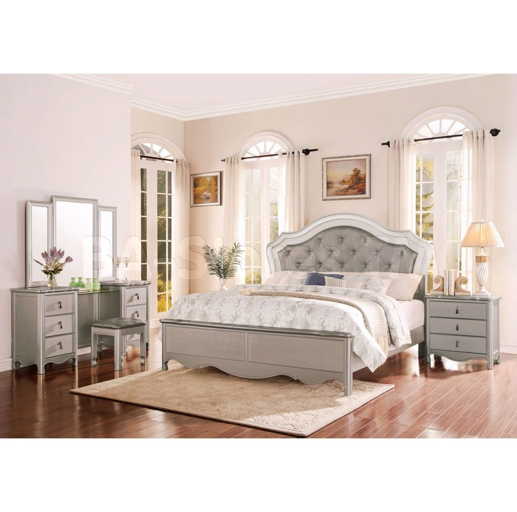 Beautiful Bedroom Set With Vanity Ideas Home Design Ideas
