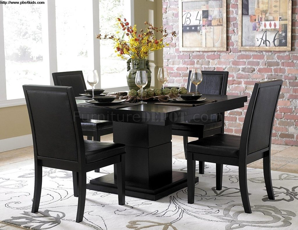 Beautiful Black Dining Room Sets Modern