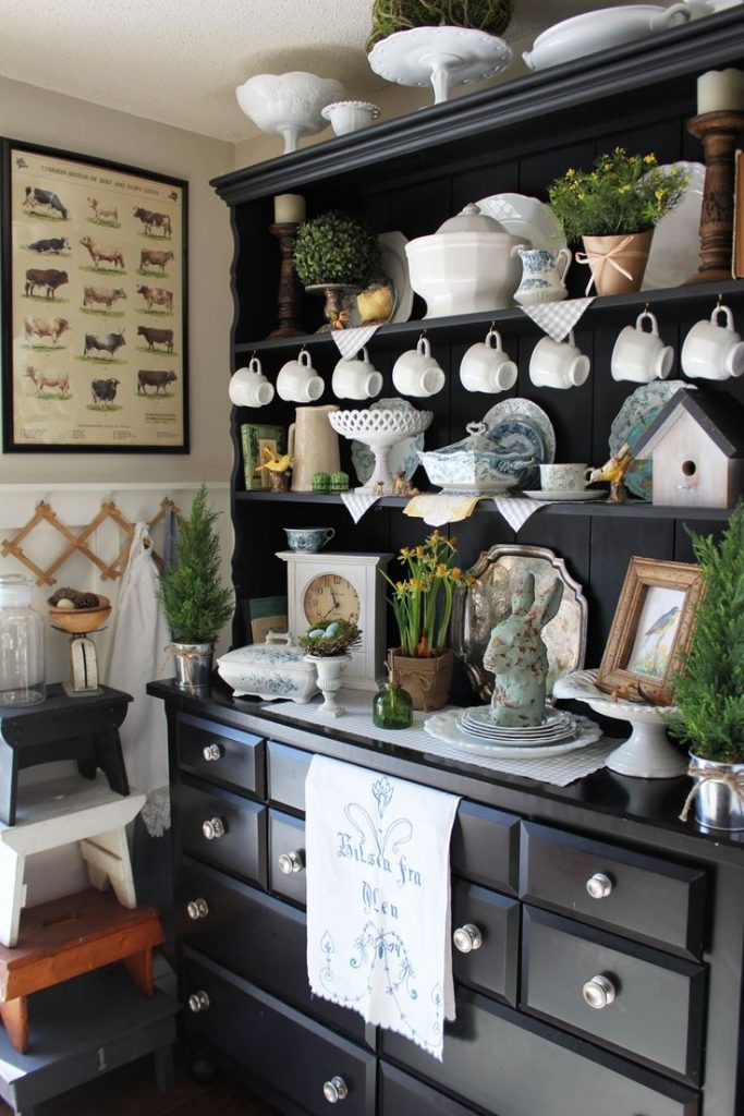 Beautiful Dining Room Hutch Decor 28 In Cabinet Design Ideas With