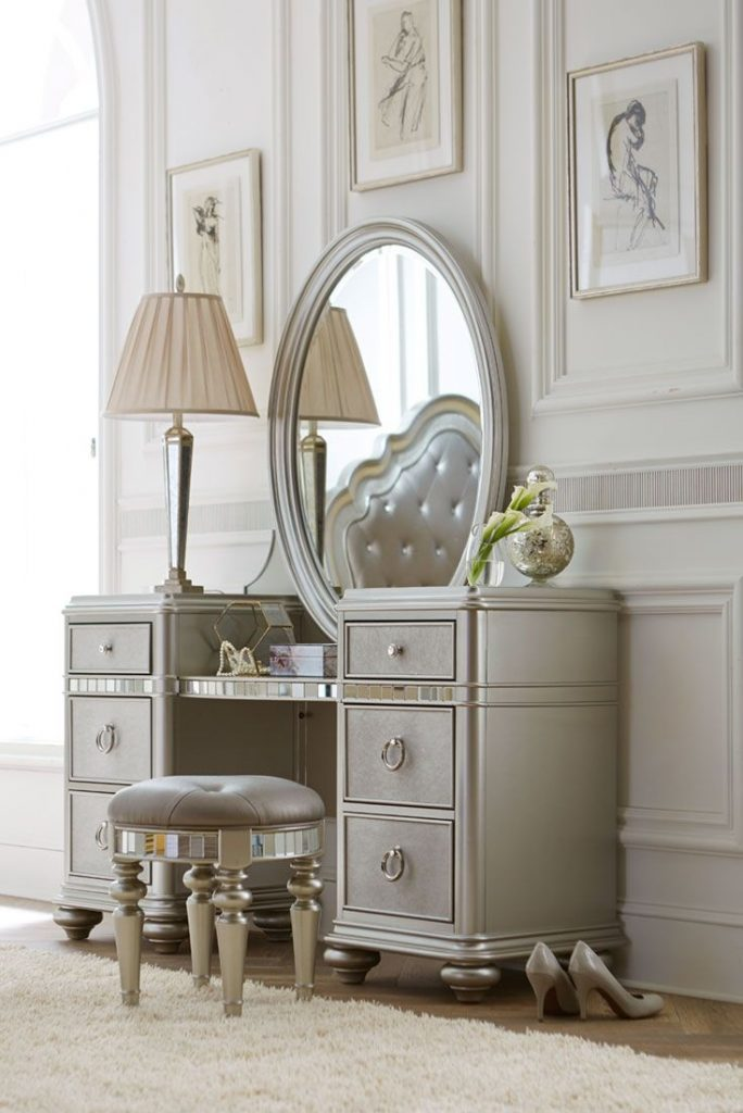 Bedroom 12 Incredible Classic Bedroom Vanity Set Ideas Cheap