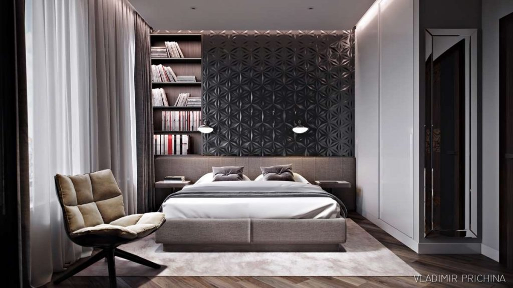 Bedroom Accent Wall Luxury Simple Bedroom Accent Wall Ideas 44