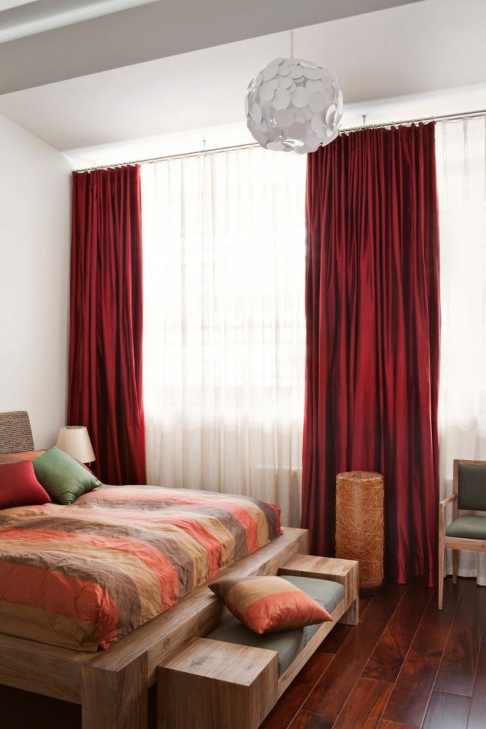 Bedroom Curtain Idea Kemistorbitalshowco