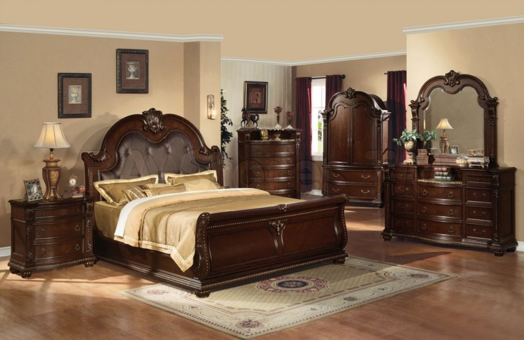 Bedroom Furniture Sets With Armoire Home Design Decorating Ideas