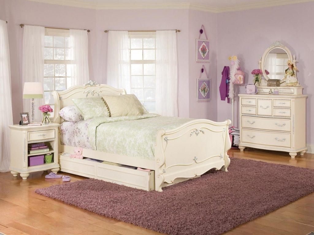 Bedroom Girls Black Bedroom Set Kids Twin Bed Furniture Bedroom Sets