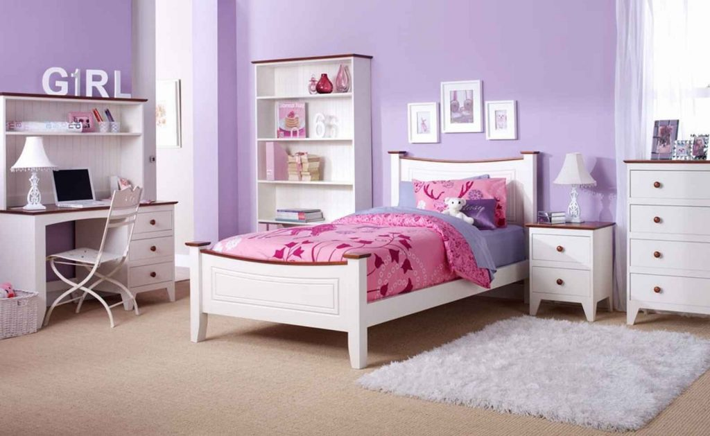 Bedroom Girls White Bedroom Suite Youth Bedroom Furniture For Small