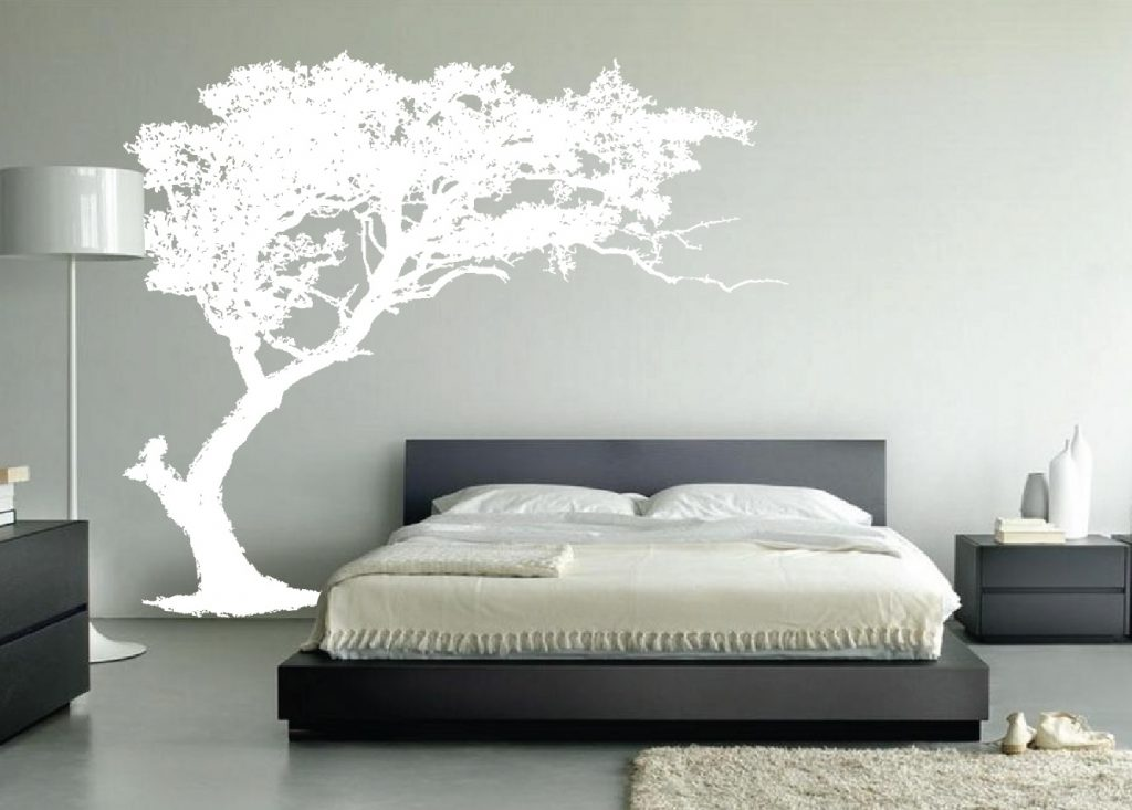 Bedroom Large Wall Tree Decal Forest Decor Vinyl Sticker Highly