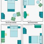 Bedroom Layout Guide Pinterest Small Spaces Layouts And Storage