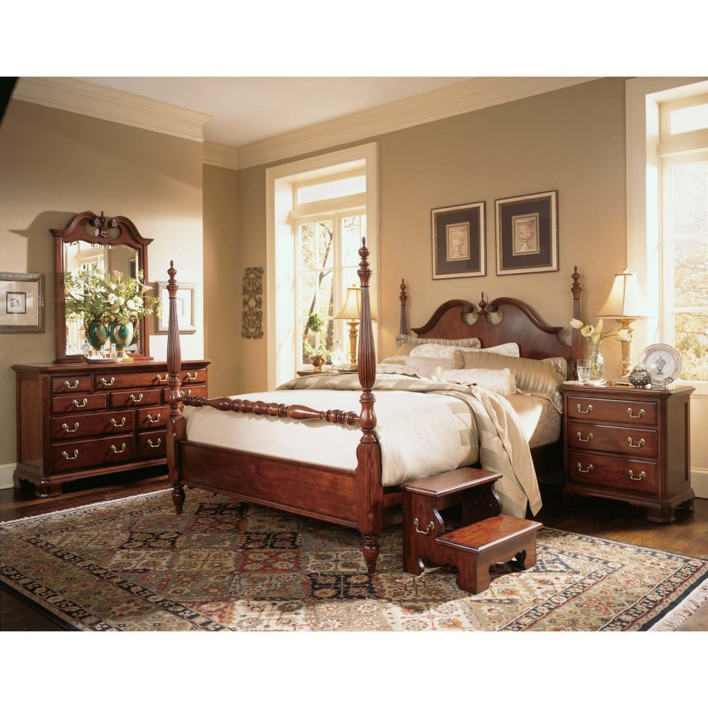 Bedroom Queen Anne Cherry Wood Bedroom Furniture Decor Ideas For