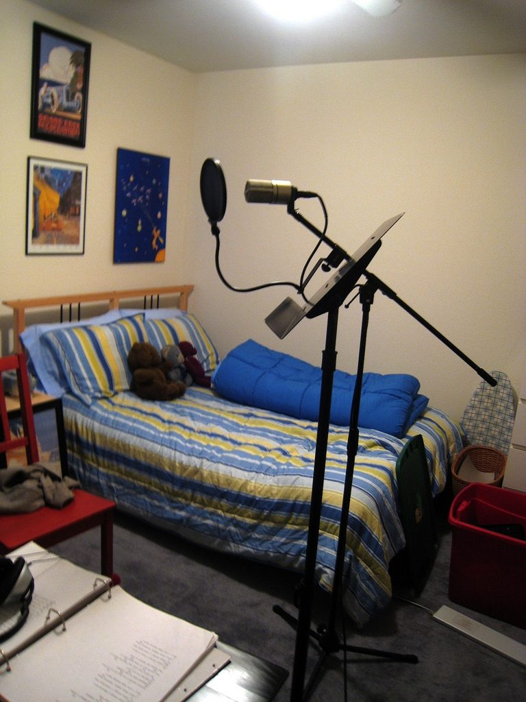 Bedroom Recording Studio Liat Zavodivker Flickr