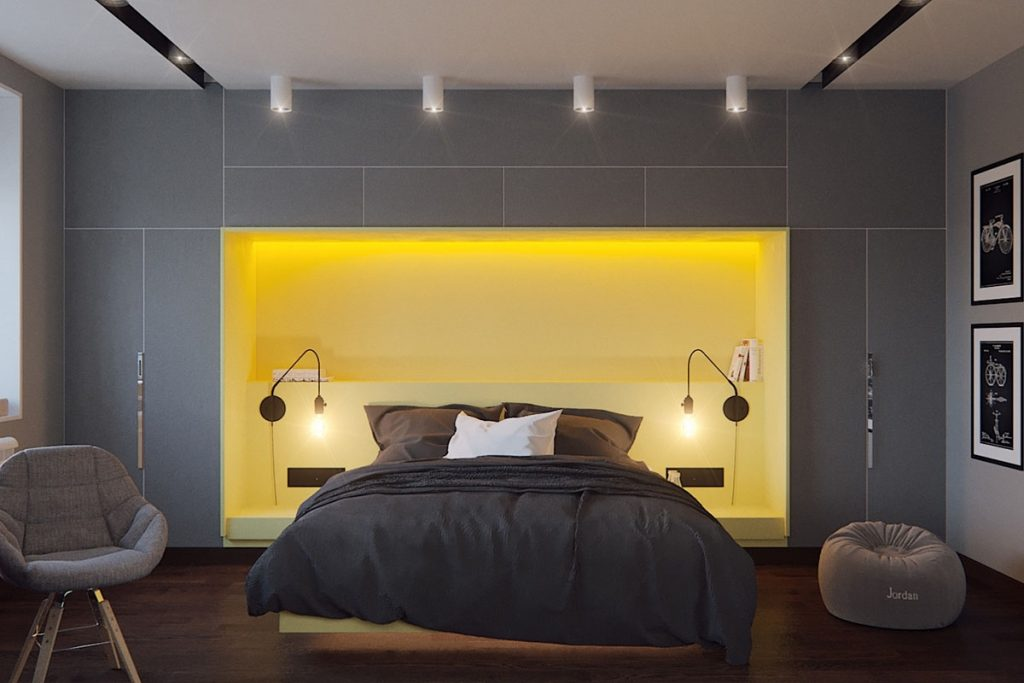 Bedroom Yellow And Grey Master Bedroom Ideas Pinterest Gray