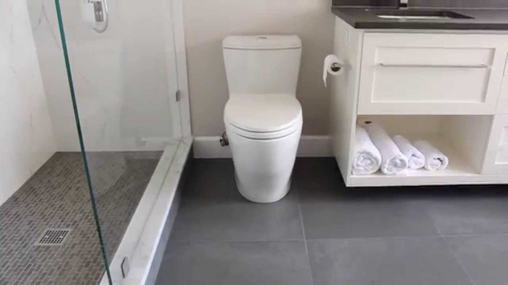 Before After Bathroom Renovation Project North Vancouver