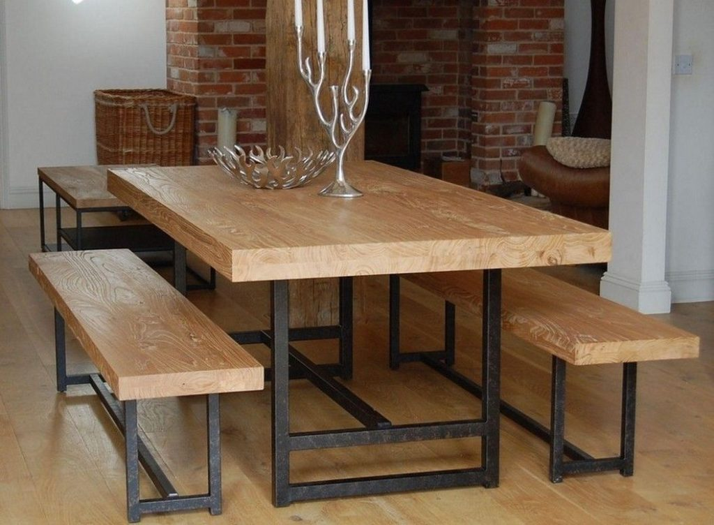 Bench Style Dining Table Set Httplachpage Pinterest