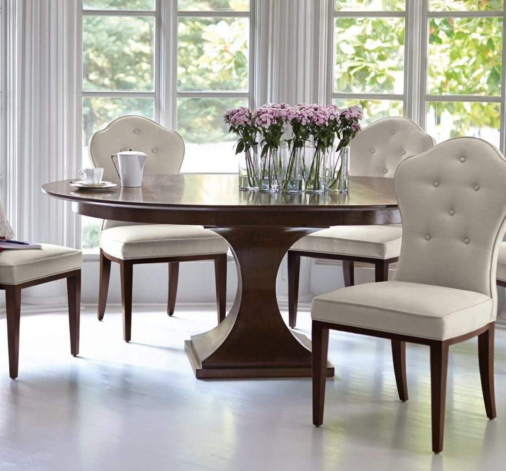 Bernhardt Round Pedestal Dining Table Lexington Furniture Company