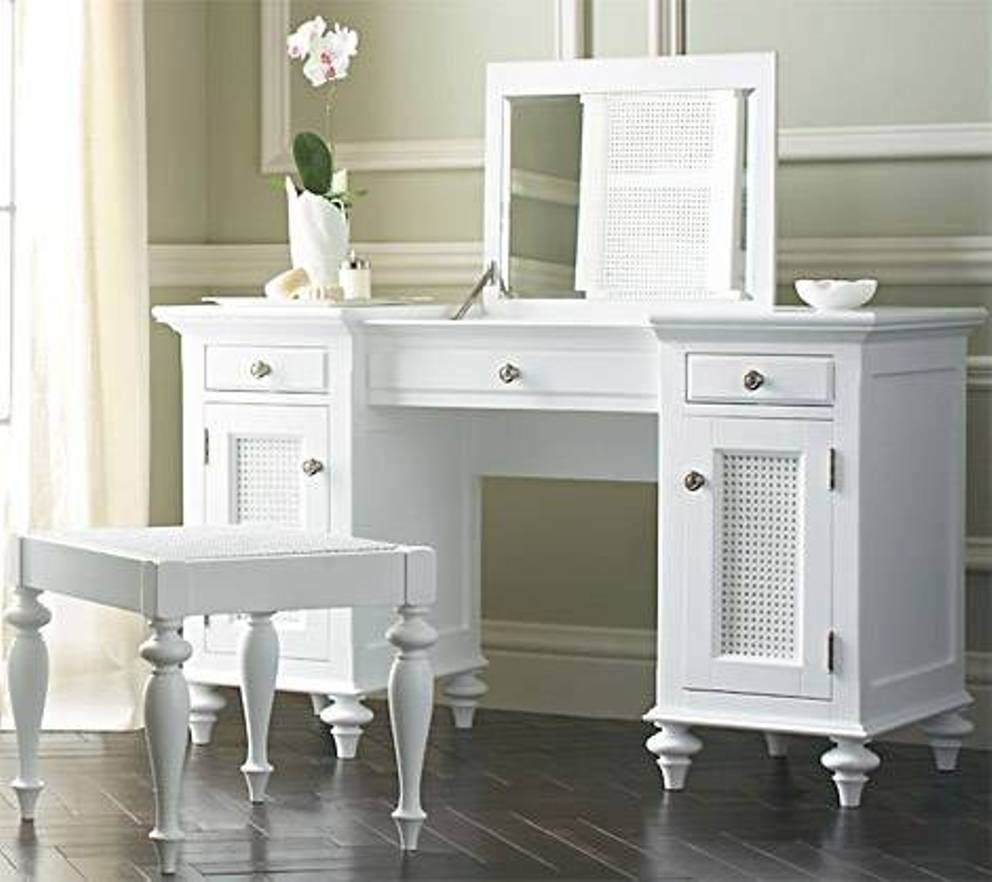 Best Bedroom Vanity With Drawers Ideas Agreeable Image Of Decoration