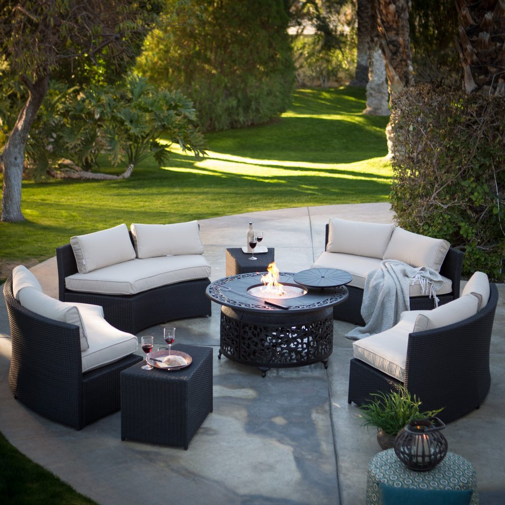 Best Of Outdoor Furniture With Gas Fire Pit Berkley Jensen Wood