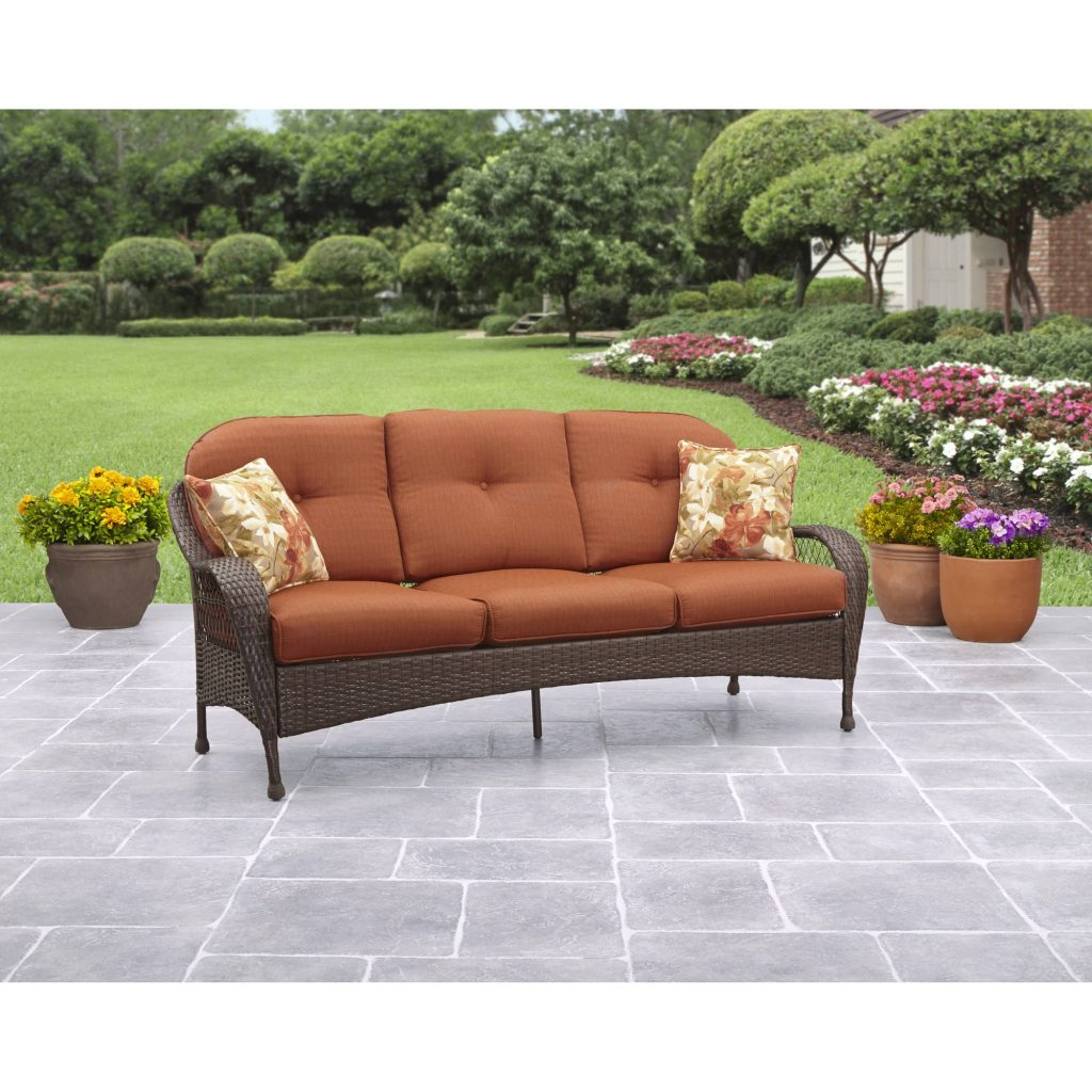 Better Homes And Gardens Azalea Ridge Outdoor Sofa Seats 3