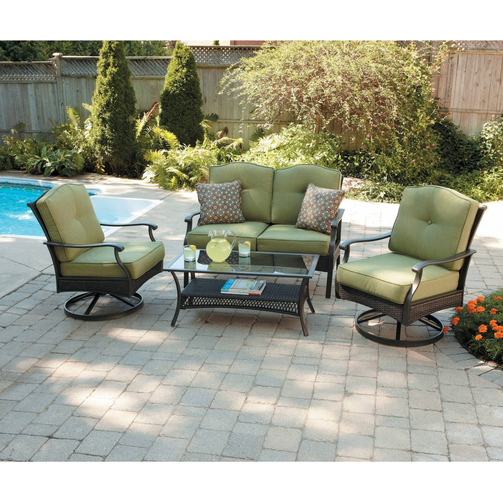 Better Homes And Gardens Providence 4 Piece Patio Conversation Set