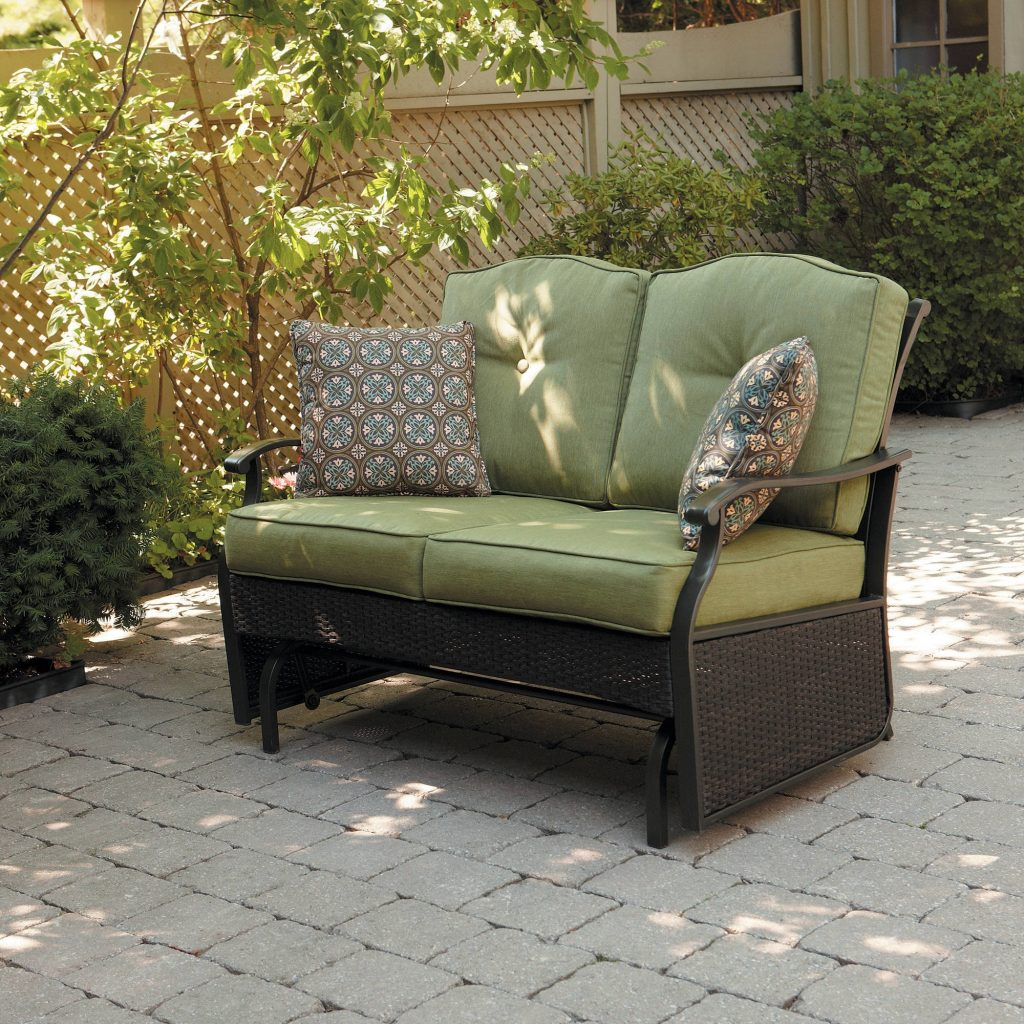 Better Homes Gardens Providence 2 Person Outdoor Glider Loveseat