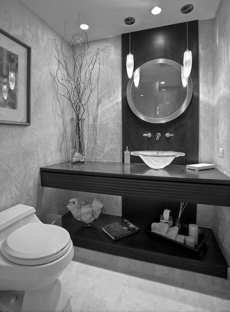 Black And Grey Bathroom Ideas Modern 71 Cool Black And White