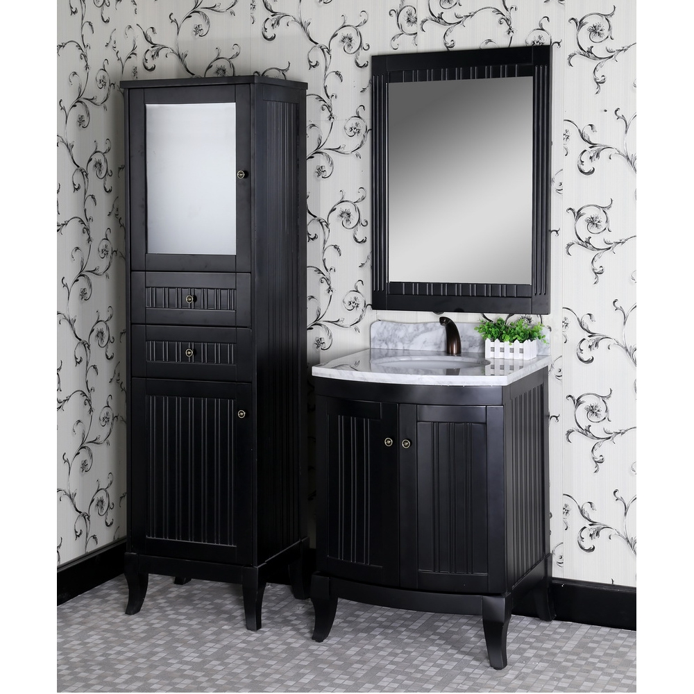 Black Bathroom Vanities Classic Top Bathroom Perfect Black