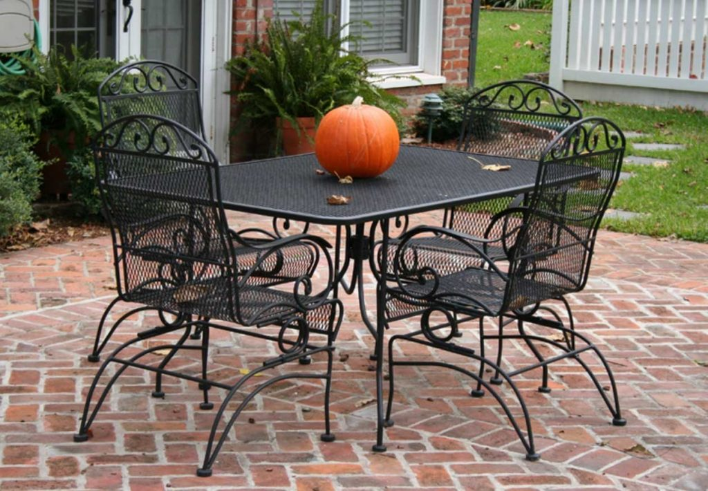 Black Metal Outdoor Furniture Plain Outdoor Full Size Of Chairs