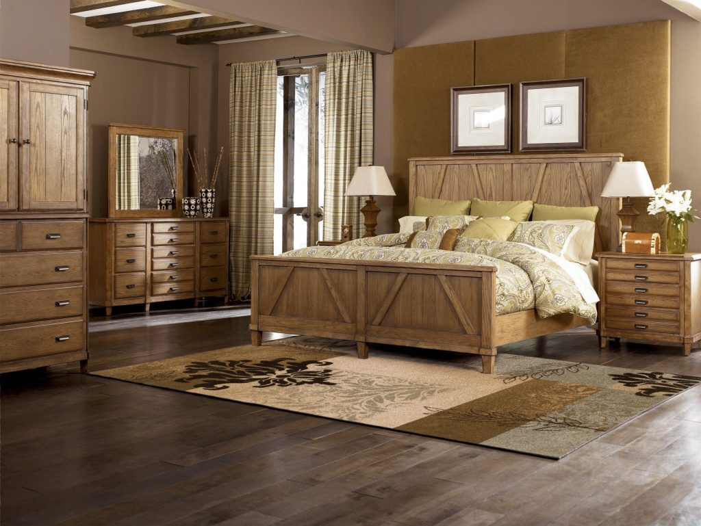 Black Rustic Bedroom Furniture With Regard To Your Property Home