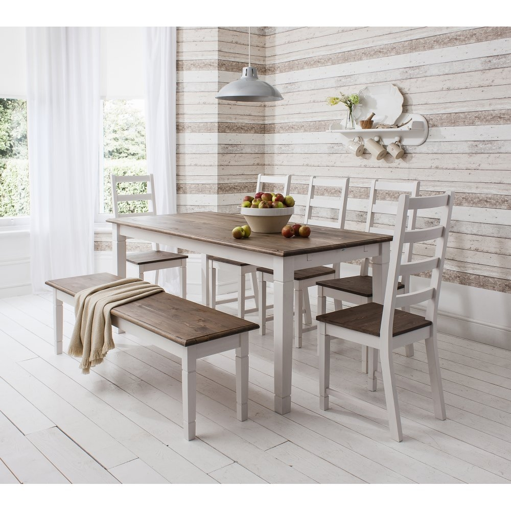 Breathtaking White Kitchen Table With Bench 14 Master Bor250