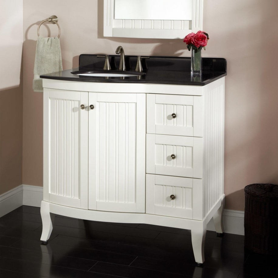 Brilliant Small Space Bathroom Vanity Regarding Motivate Home