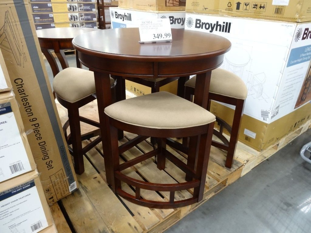 Broyhill Lenoir 5 Piece Counter Height Dining Set Costco For The