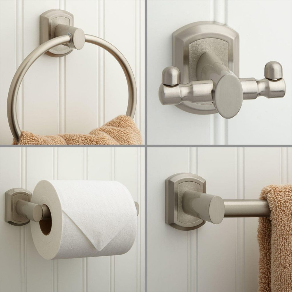 Brushed Nickel Bathroom Accessories Picture The Kienandsweet