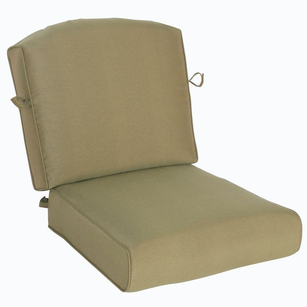 Bullnose Outdoor Chair Cushions Outdoor Cushions The Home Depot