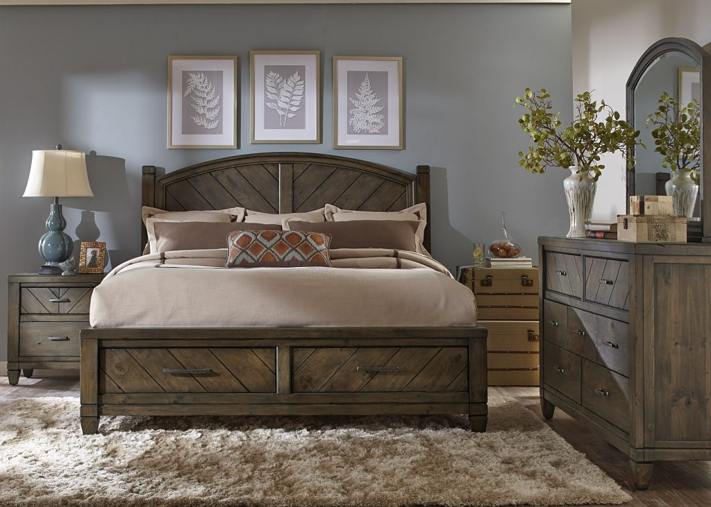 Buy Modern Country Bedroom Set Liberty From Wwwmmfurniture