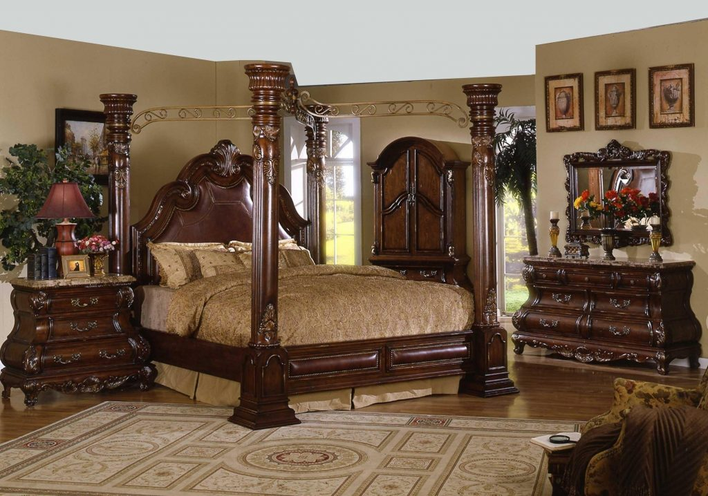 Canopy Bed Canopy Bedroom Sets Four Post Canopy Bed