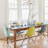 Chair Bright Colored Furniture With Beautiful Dining Chairs Chic