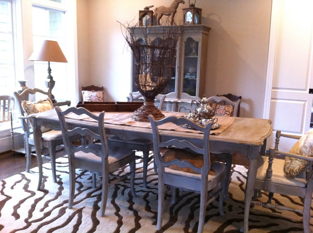 Chair Elegant Country Dining Room Furniture Round French Chairs